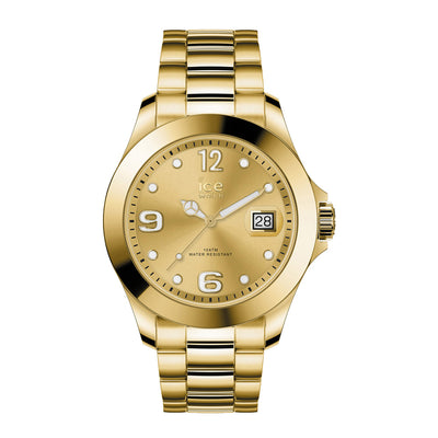 Ice-Watch IW016777 ICE steel Classic Gold Full Shiny M Dames horloge