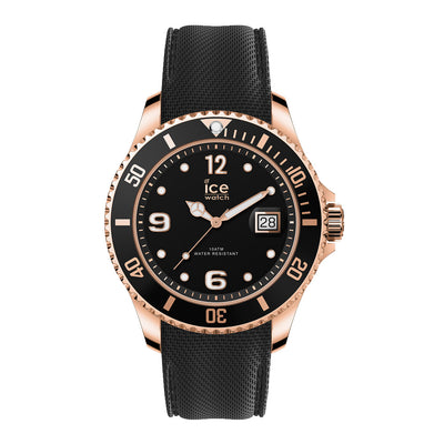 Ice-Watch IW017327 ICE steel - Black Rose - Gold - XL Heren horloge