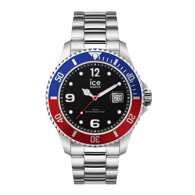 Ice-Watch IW017330 ICE steel - United Silver - XL Heren horloge