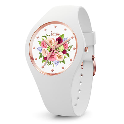 Ice-Watch IW017575 Ice Flower White Small Dames horloge