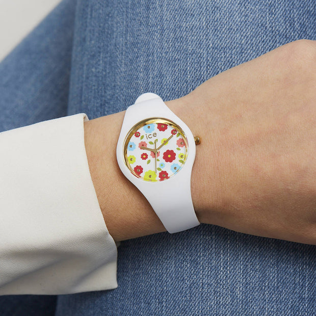 Ice-Watch IW017582 Ice Flower White Small Dames horloge