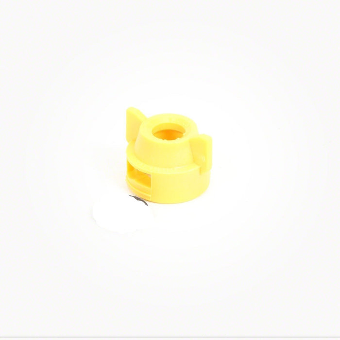 TEEJET QUICK CAP AND SEAT GASKET SET YELLOW