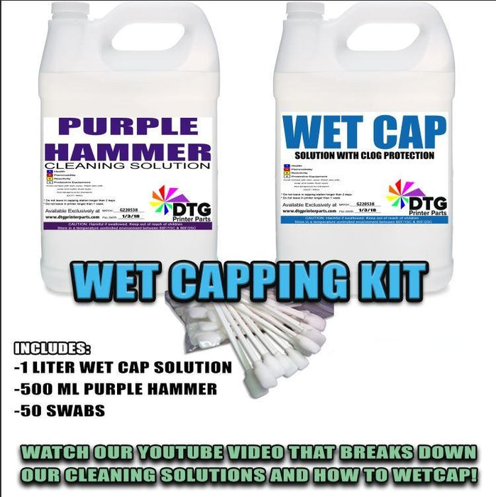 WET CAPPING KIT