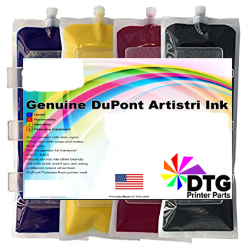 Anajet Sprint/FP125 220ML Genuine DuPont Artistri DTG Ink Bag