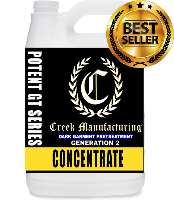 Creek Manufacturing BLACK LABEL GTX OPTIMIZED Generation 2 POTENT Dark Pretreat (CONCENTRATE)