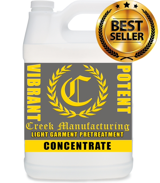 Creek Manufacturing Generation 2 LIGHT Pretreat (CONCENTRATE) FOR ALL DTG'S