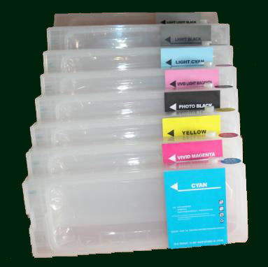 Epson Compatible Refillable 7800/9800 Cartridge Set