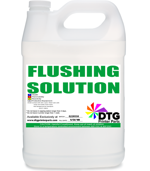 Flushing Solution for Epson and DTG Printers