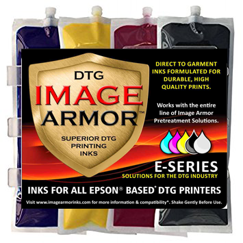 Anajet Sprint/FP125 220ML Genuine IMAGE ARMOR DTG Ink Bag