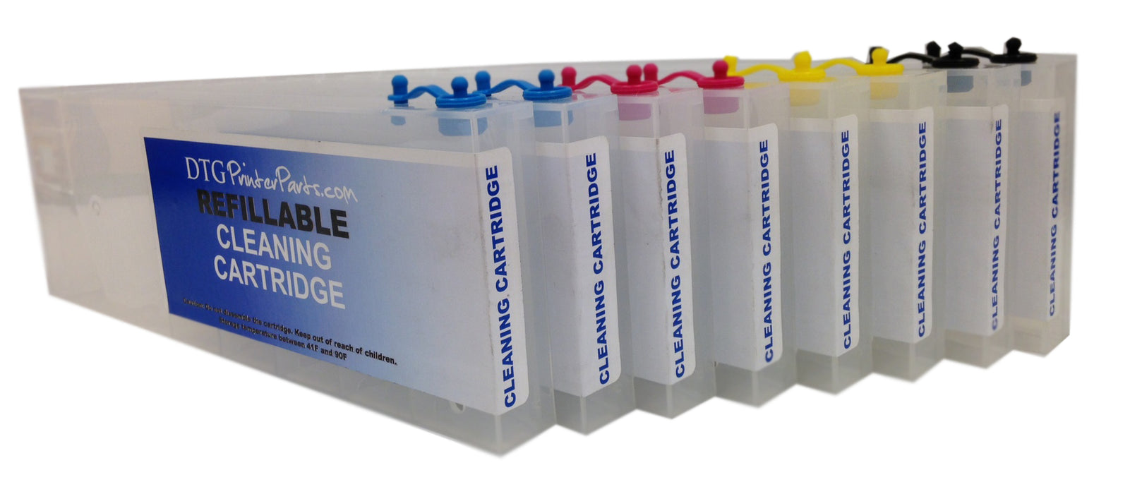 8 X Compatible Anajet Sprint/FP 125 Refillable Cleaning Cartridges