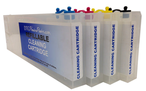 4 X Compatible Anajet Sprint/FP 125 Refillable Cleaning Cartridges