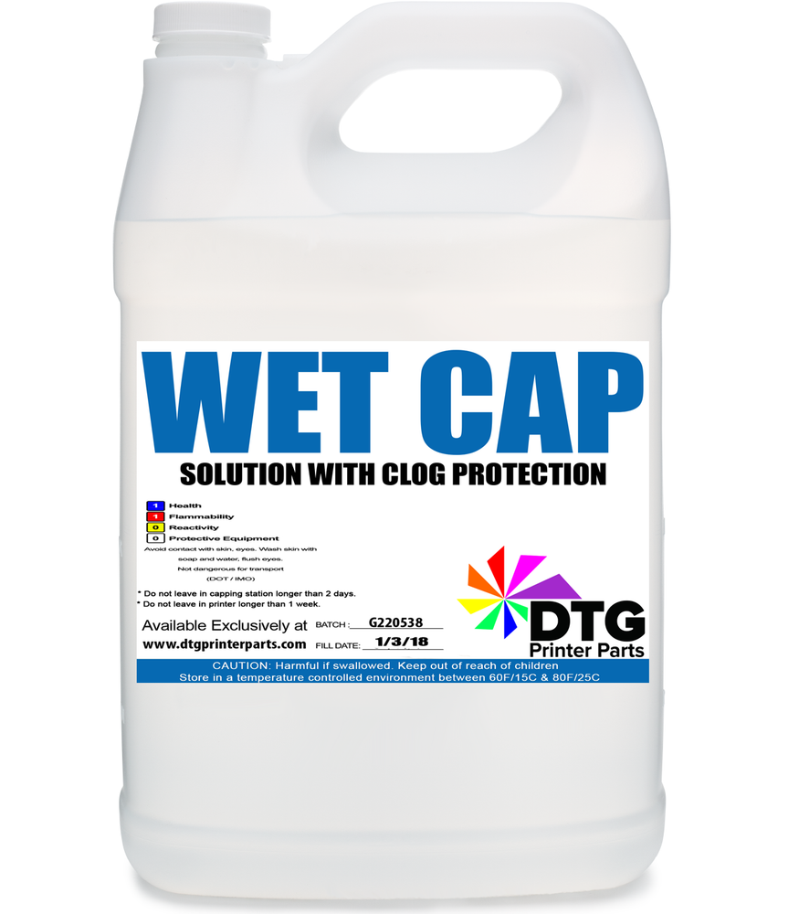 Wet Cap Solution with Clog Protection