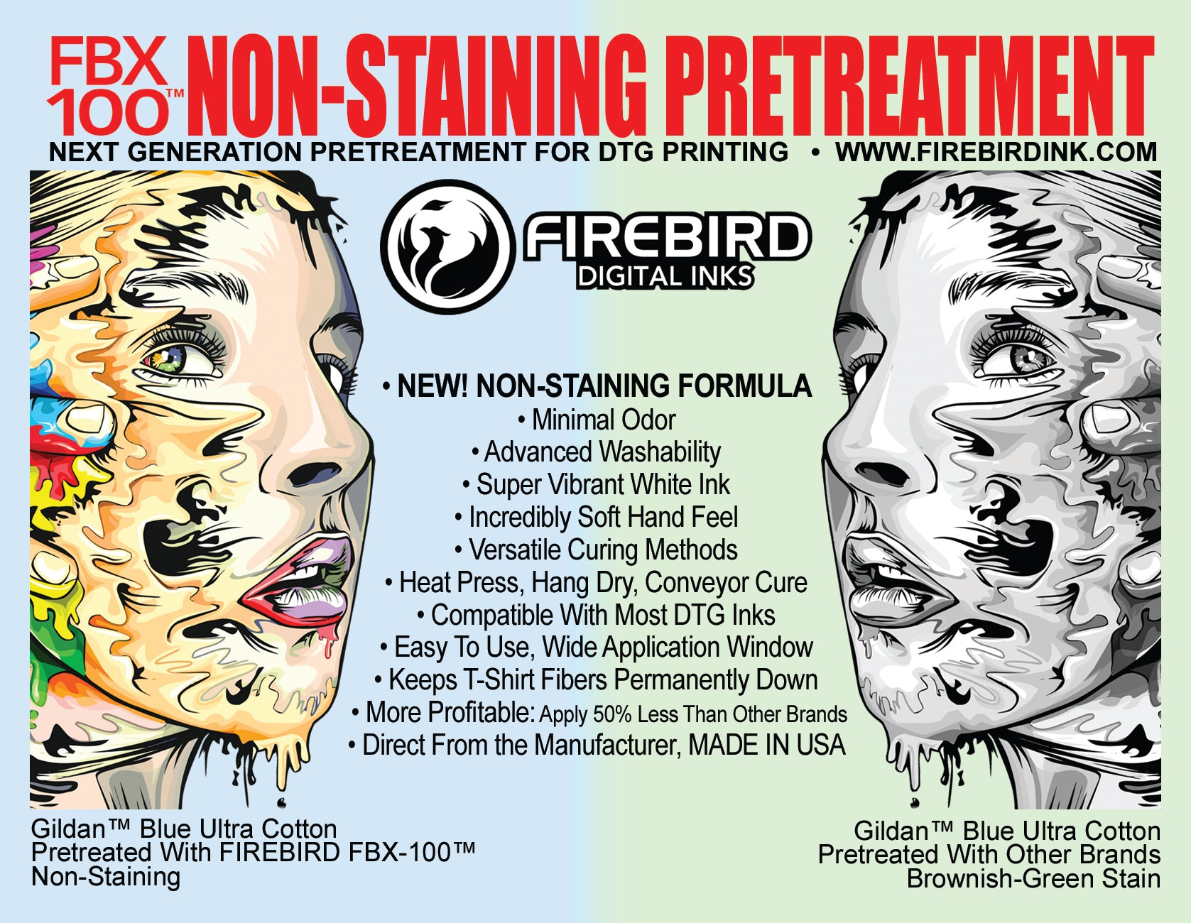 DTG Pretreatment