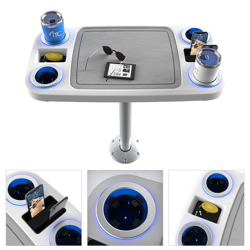 Battery Powered LED Table Systems W/ Center Foam Mat