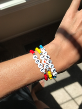 Load image into Gallery viewer, Word Beaded Bracelets