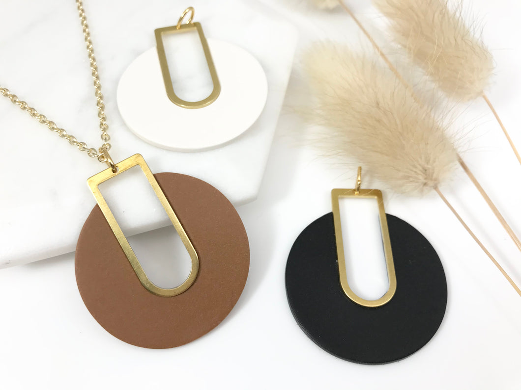 Neutral Spaces Necklaces