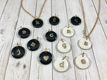 Load image into Gallery viewer, Initial Coin Necklace