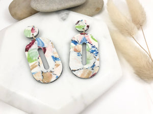 Watercolor Dangles