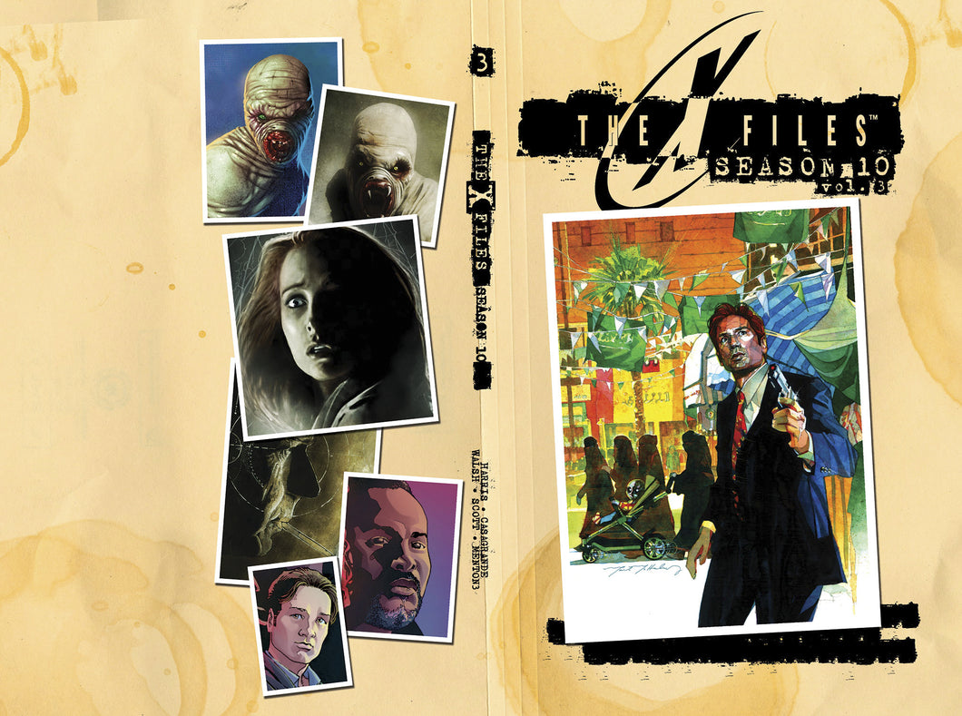 The X-Files: Season 10 Volume 3 HC