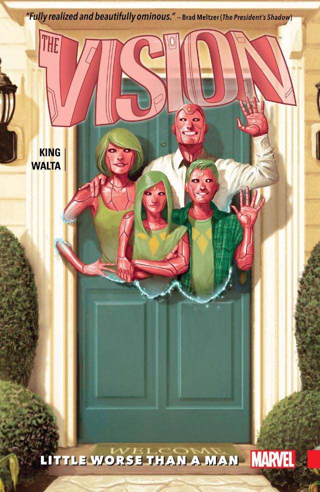 VISION TPB VOL 01 LITTLE WORSE THAN MAN by Tom King
