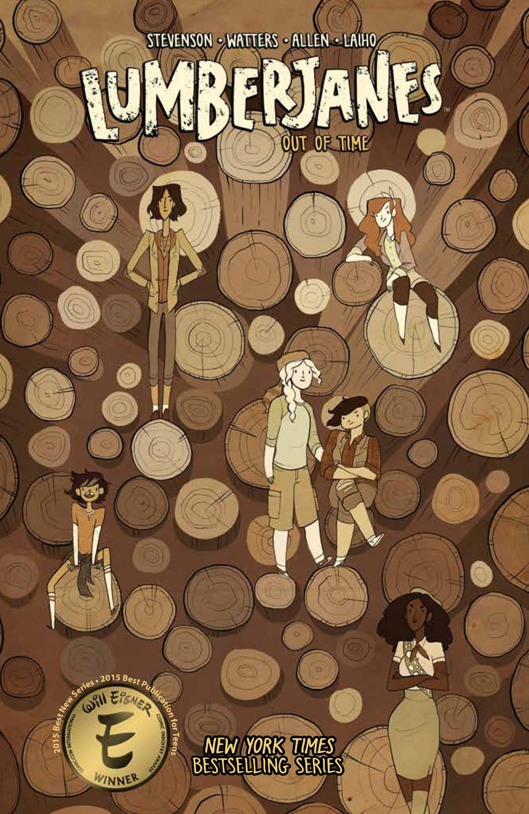 LUMBERJANES: OUT OF TIME VOLUME 4 TPB