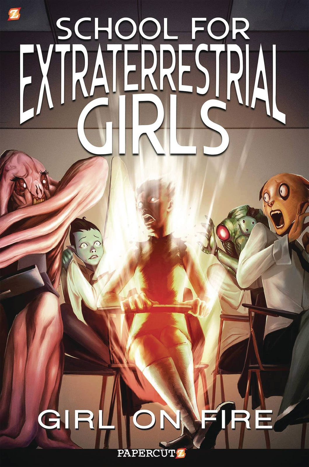 SCHOOL FOR EXTRATERRESTRIAL GIRLS GN VOL 01 GIRL ON FIRE