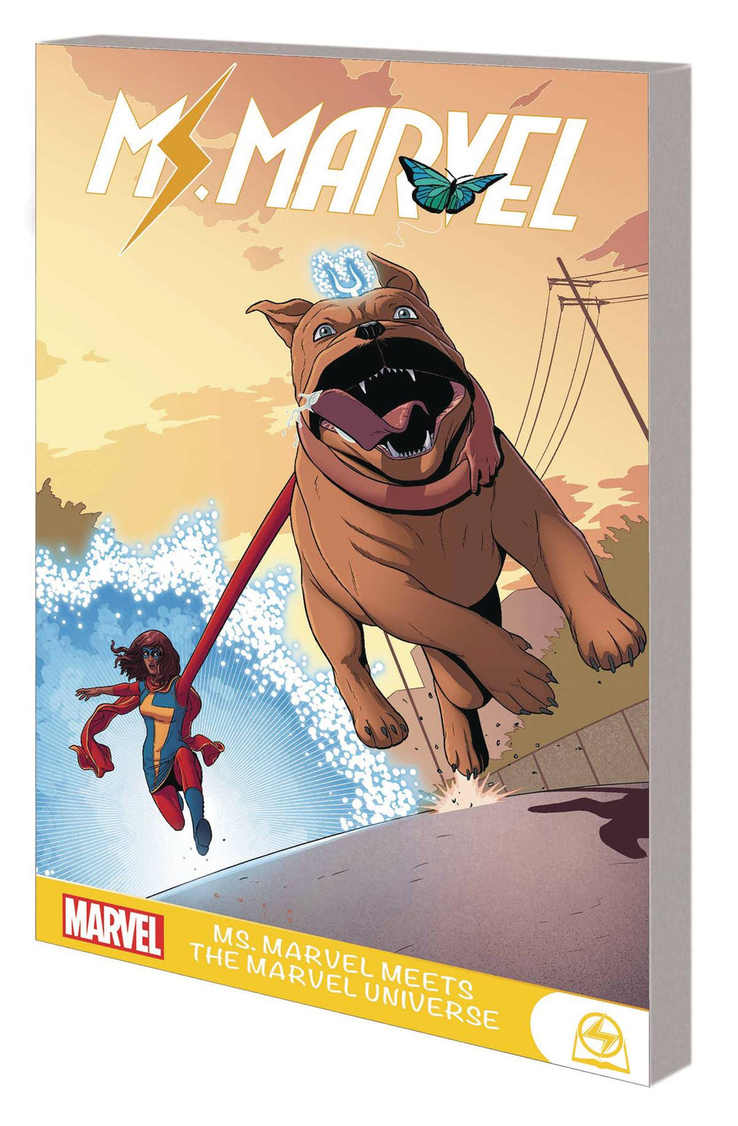 MS MARVEL MEETS MARVEL UNIVERSE TPB