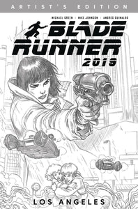 BLADE RUNNER 2019 HC VOL 01 ARTIST EDITION B/W