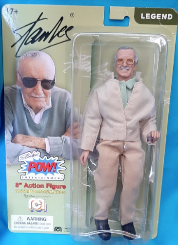 STAN LEE MEGO RETRO STYLE ACTION FIGURE