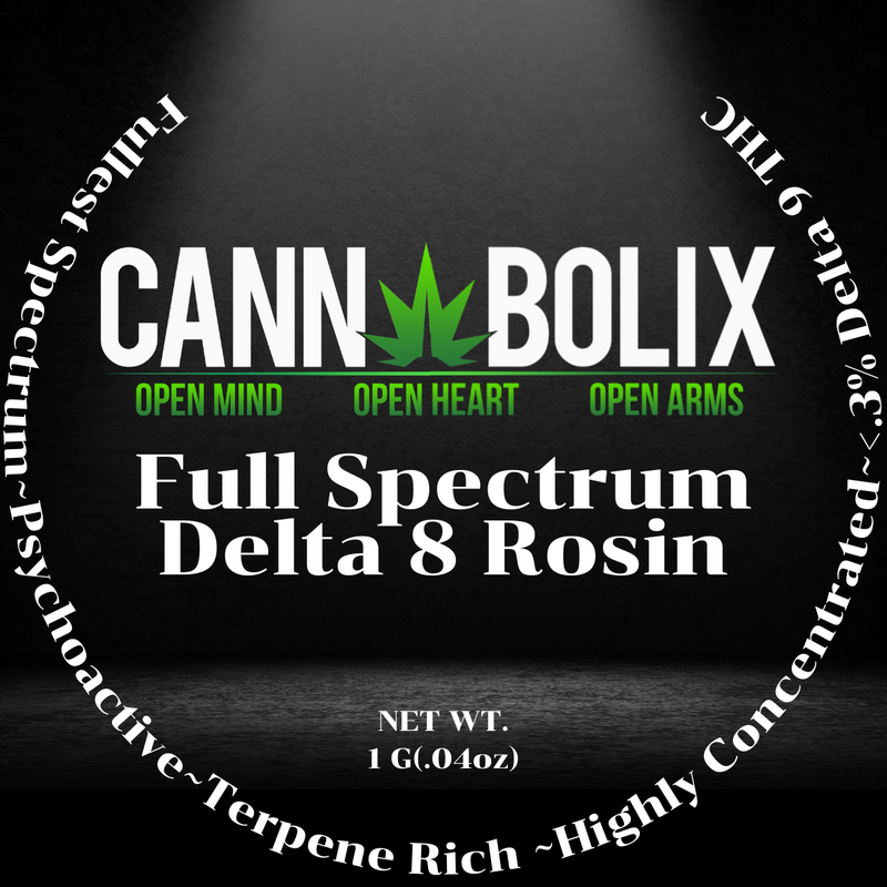 Full Spectrum Delta 8 Rosin
