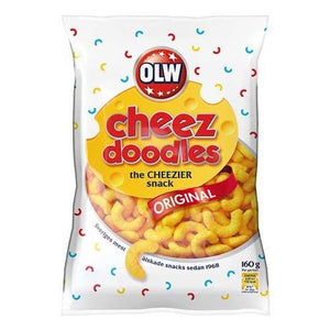 OLW CHEEZ DOODLE 160g - Candify.se