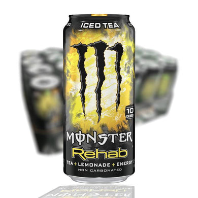 MONSTER REHAB 50 CL(ELDGUL) - 24 st (ink pant) - Candify.se