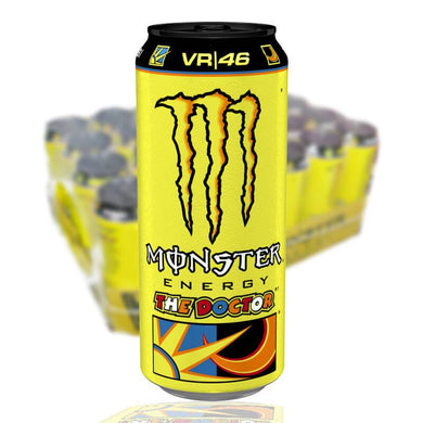 MONSTER VR/46 THE DOCTOR 50 CL (GUL) - 24st (ink pant) - Candify.se