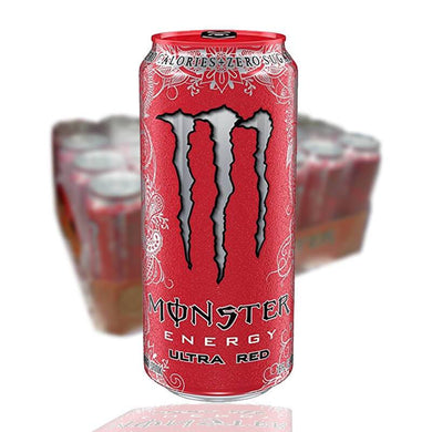 MONSTER ULTRA RED 50 CL - 24 st (ink pant) - Candify.se