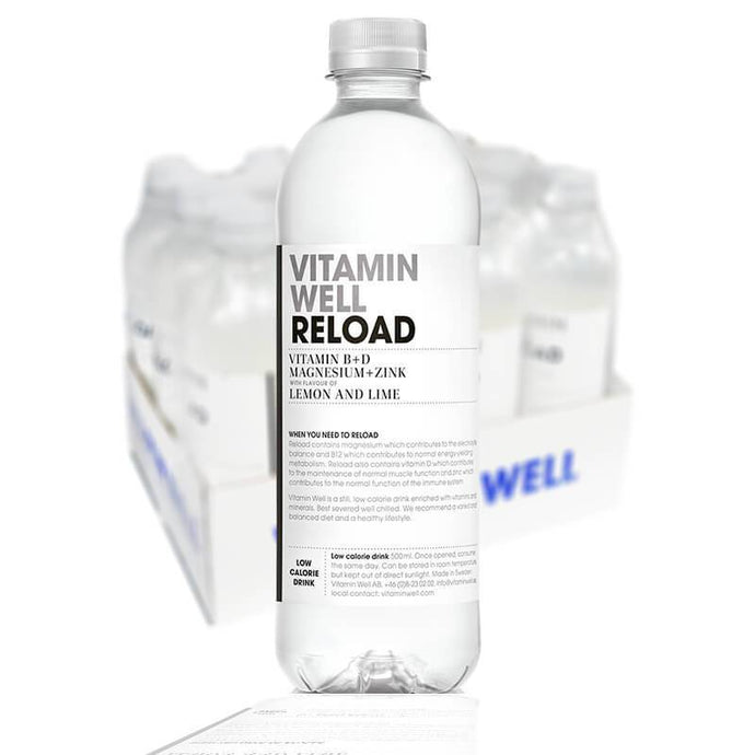 VITAMIN WELL RELOAD50CL - 12 st (inkl pant) - Candify.se