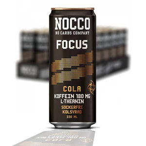NOCCO BCAA FOCUS COLA 33 CL - 24 st (ink pant) - Candify.se