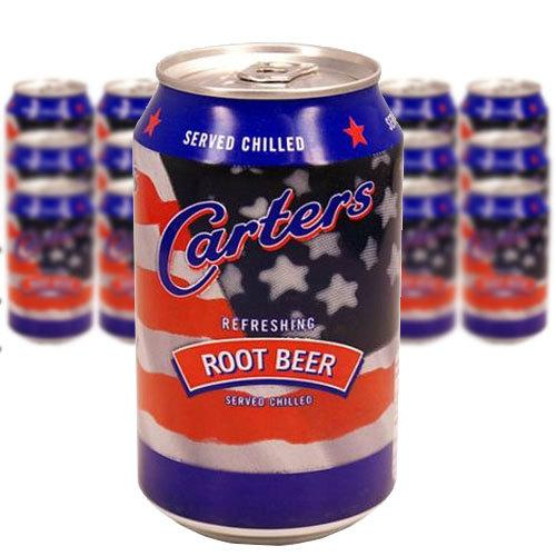 CARTERS ROOT BEER 33CL x 24st (ink pant) - Candify.se
