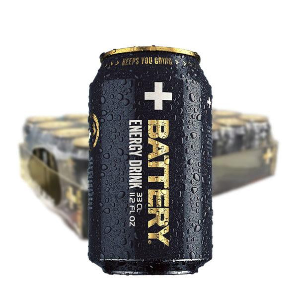 BATTERY ENERGY DRINK 33CL - 24st (ink pant) - Candify.se