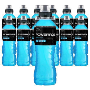 Powerade Mountain (Blå) 50cl - 12st (ink pant) - Candify.se