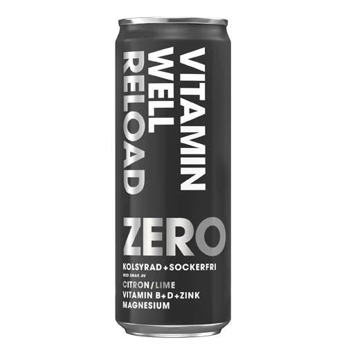 VITAMIN WELL RELOAD ZERO 33.5CL - Candify.se