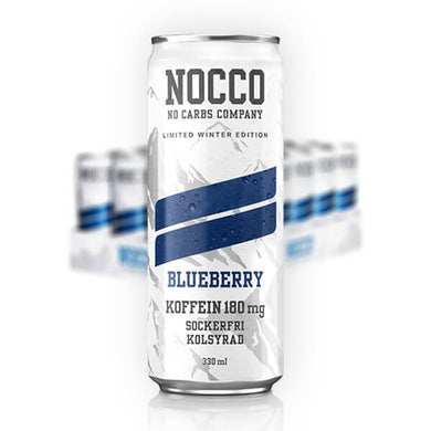 NOCCO Winter ed. Blueberry - 33 cl x 24st (ink pant) - Candify.se