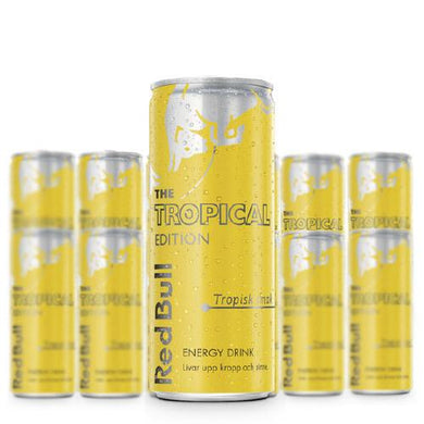 Red Bull Tropical Edition - 250 ml x 12st (ink pant) - Candify.se