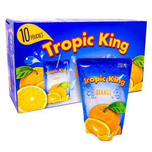 1 st 10-pack Tropic King Orange 200 ml - Candify.se
