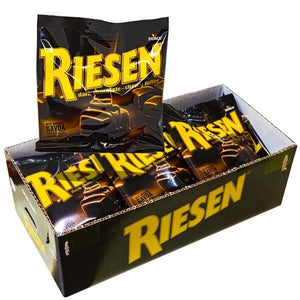 Riesen Chocolate-chewy toffee 80gx18st