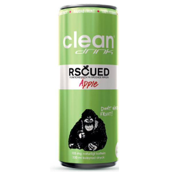 Clean Rscued By Clean Äpple 33 cl (Inkl Pant)
