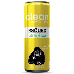 Clean Rscued By Clean Citron/Lime 33 cl (Inkl Pant)