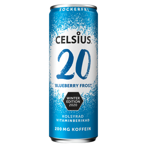 Celsius Blueberry Frost - 355 ml (ink pant)