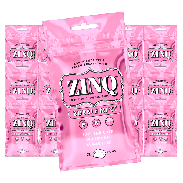 ZINQ Bubble mint 31.5g x 15 st
