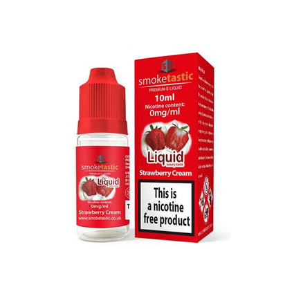 12 x Smoketastic 0MG 10ML Shortfill E-Liquid (50VG/50PG)