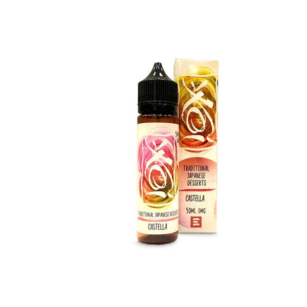 Koi by Element 0mg 50ml Shortfill E-Liquid(80VG/20PG)